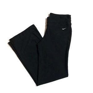 Bike Dri Fit Black Yoga Pants
